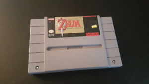 Zelda A Link To The Past SNES Cartridge