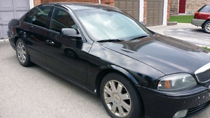 2004 Lincoln Is for sale as is