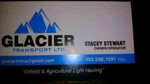 Light hauling oilfield and agriculture