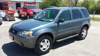 2005 Ford Escape SUV *** Certified / E-Tested SALE PRICED $3995