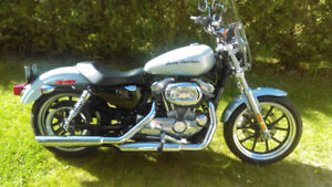2014 harley sportster superlow 7700km comme neuf pas cher