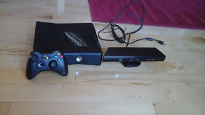 XBOX 360 500 GB + Kinetic for sale / à vendre (Optional games)