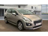 2014 Peugeot 3008 1.6 HDi FAP Active 5dr SUV Diesel Manual