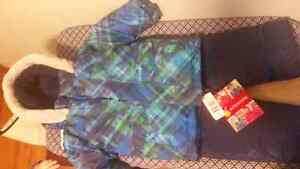 New with tags Krickets snowsuit from costco