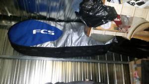 Fcs Doble long board surf bag.