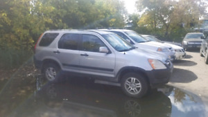 2004 Honda Crv 5spd manual