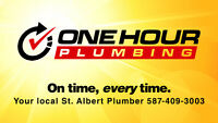 One Hour Plumber, Fast, Professional & Emergency Services