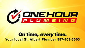 One Hour Plumber, Fast, Professional & Emergency Services Edmonton Edmonton Area image 1