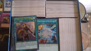 Yugioh bulk lot! Over 3700 cards! (Over 700 rare and up)