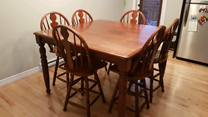 High top, Pub Style Kitchen Table - MUST GO. $450 OBO