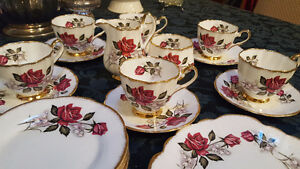 Vintage Clare Bone China tea set