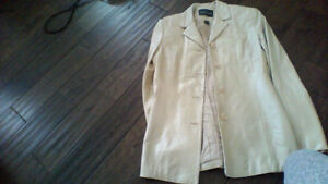 Leather jacket $20, over 100 other tops,outerwear, jeans $45 OBO