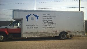Moving Company For Sale (includes truck, equipment, contracts)