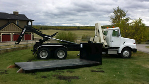 Hooklift Picker Crane Tandem