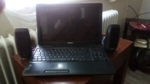Laptop and speakers for sale...