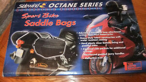 brand new in box Sidewind Motorcycle Saddlebags