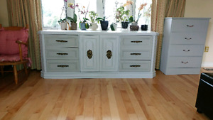 Solid wood 6 plus drawer dresser