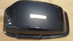 HARLEY-DAVIDSON COUVERCLE VALISE COV LH SPORTSTER GUN METAL BLUE
