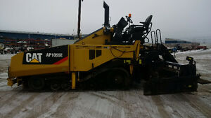 Caterpillar AP1055E Asphalt Paver - Super Clean - Barely Used