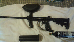 Tippman model 98 with upgraded
