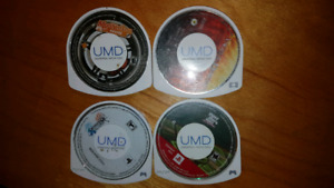 PSP UMD Grand theft auto et Final Fantasy