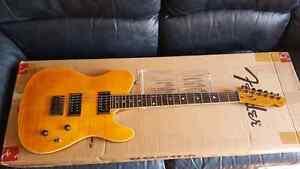Guitare fender telecaster fmt couleur ambre neuve