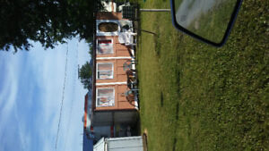 Trailer and add a room in bass cove trailer park napanee