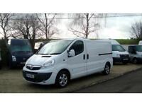 2014 VAUXHALL VIVARO 2.0 CDTI [115PS] 2900 LWB Sportive Van