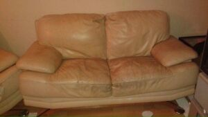 Leather loveseat 75 OBO