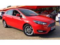 2016 Ford Focus 1.0 EcoBoost 125 Zetec Automatic Petrol Hatchback