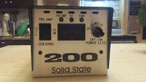 CB amplification solid state 200