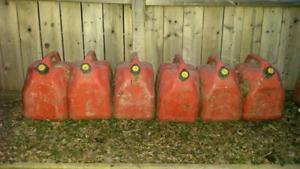 Empty 5L/20 gal Jerry Cans