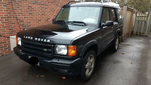 2001 Land Rover Discovery Series II SE SUV, Crossover
