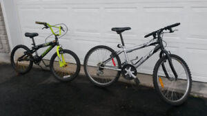 2 Children's Bikes, to fix up or for parts
