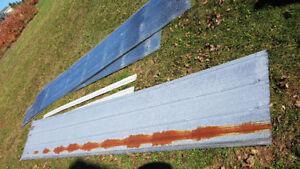 Used steel roofing