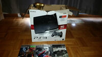 160GB PS3 with games