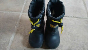 Bob the Builder Winter Boots-Size 6 Toddler