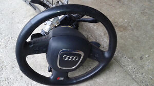 A4 B7 S-Line paddle shifter steering wheel & Airbag West Island Greater Montréal image 3
