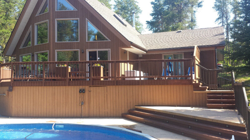Beautiful Executive Cottage for rent in Belair, Manitoba   Short