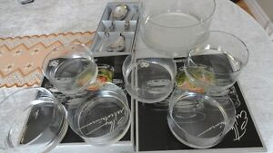 15pc Glass Salad Set Cambridge Kitchener Area image 3