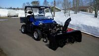 "27hp Berco snowblower 66"" SOLD"