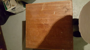 """Side table 18"""" wide 24"""" high"""