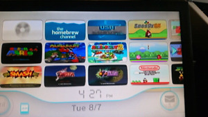 Modded Wii With Gamecube and 2000+ Retro Games installed