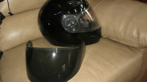motorcycle helmet HJC black medium