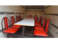 Tables and chairs units