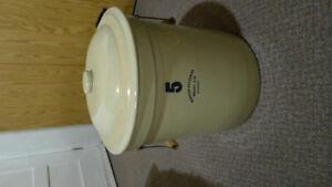 Antique  5 gallon Crock