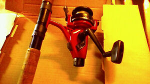 ABU GARCIA CARDINAL 556 SPINNING REEL WITH 7FT2 IN ROD