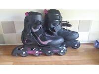 Inline skates. Hardly used