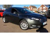 2017 Ford Focus 1.0 EcoBoost 125 Zetec Edition Automatic Petrol Hatchback