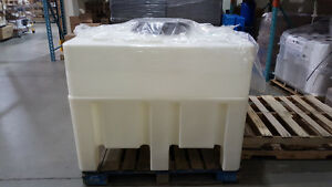 Plastic container for pharmaceutical/food grade ~1,000 litres